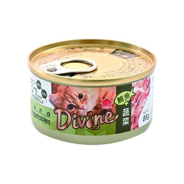 沛奇-海味饗宴貓餐罐4號(鮪魚+蔬菜)85g 1