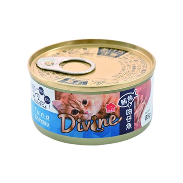 沛奇-海味饗宴貓餐罐3號(鮪魚+吻仔魚)(湯罐)85g 1