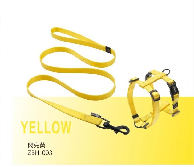 ZOOLAND 牽繩+胸背組(黃) 1